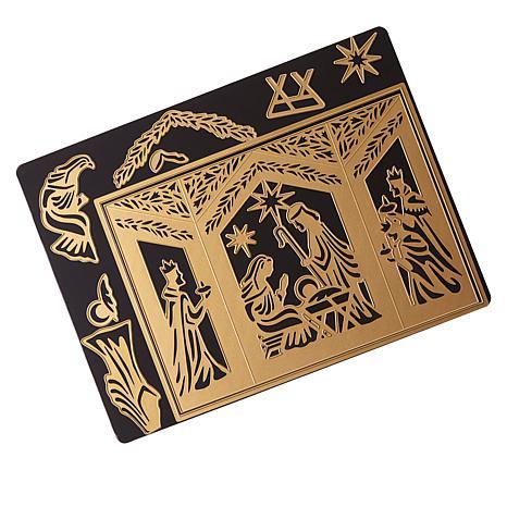 Anna Griffin® Nativity Shadow Box Dies