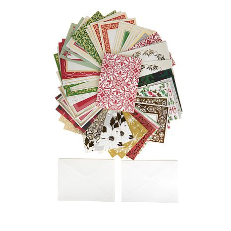 Anna Griffin® Perfect Patterns Xmas Cards and Envelopes