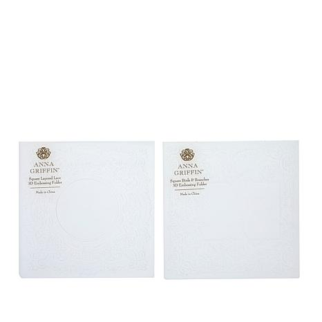 Anna Griffin® Square 3D Embossing Folders