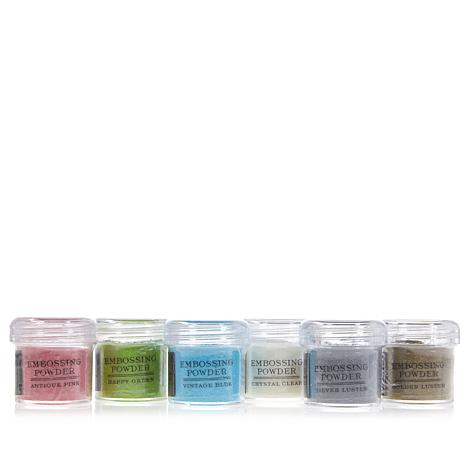 Anna Griffin® Treasury Embossing Powders 6-pack