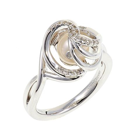 "Anne Geddes ""Miracle"" White Knot Ring"