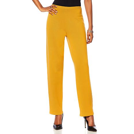 """Antthony """"Check Me Out"""" Pull-On Knit Trouser"""