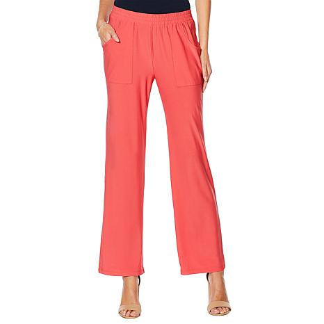 """Antthony """"Ocean Waves"""" Pull-On Cargo Pant"""