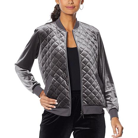 Antthony Quilted Bomber Jacket
