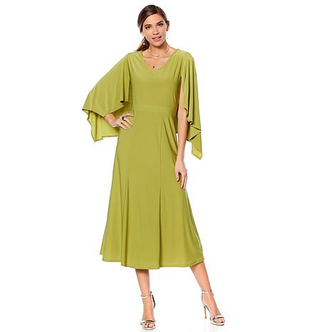 """Antthony """"Reflections"""" Cape Dress"""