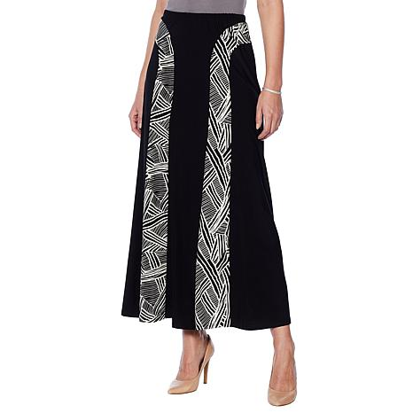 "Antthony ""Smooth Sports"" Contrast Panel A-Line Skirt"