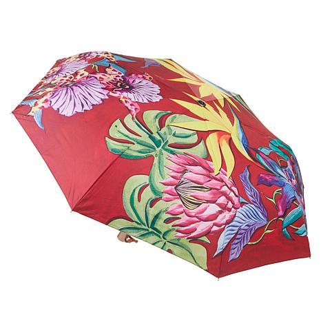 Anuschka Automatic Open-Close Printed Umbrella