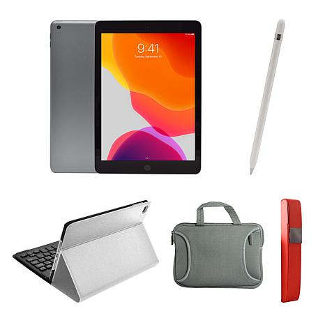 """Apple iPad® 10.2"""" 32GB Tablet with Apple Pencil and Accessories"""