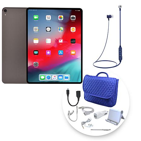 apple ipad pro  cellular tablet wbag accessories  hsn