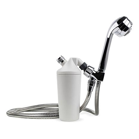 Aquasana Deluxe Shower Water Filtration System with Flex Hose
