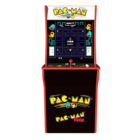 Pac Man Machine >> New Arcade1up Pac Man Pac Man Plus Arcade Machine With Riser