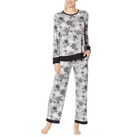 Aria 2-piece Brushed Sweater Knit Pajama Set