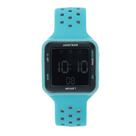 Armitron Square Dial Digital Chronograph Watch 8530736 Hsn