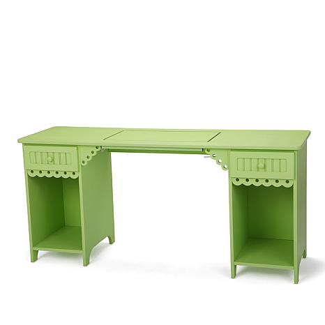 Charmant Arrow Olivia Sewing Table   Green