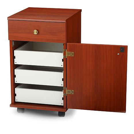 Suzi Sewing Cabinet Cherry 6882395 Hsn