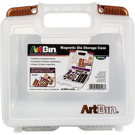 ArtBin Magnetic Die Storage W/3 Sheets   10.25X3.25X9.625 Translucent    6900760 | HSN