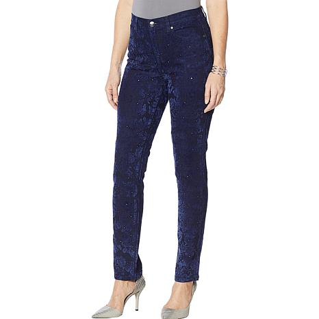 """""""As Is"""" DG2 by Diane Gilman Classic Stretch Novelty Skinny Jean"""