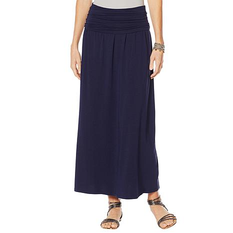 """As Is"" Motto Limitless Stretch Jersey Convertible Maxi Dress"
