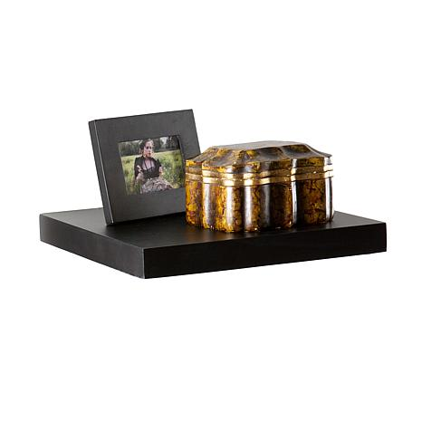 "Assissi 10"" Floating Shelf - Black"