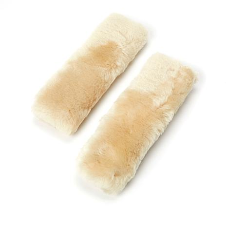 AutoSmith 2-pack Sheepskin Seat Belt Covers