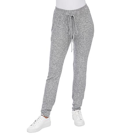 B Collection by Bobeau Brushed Knit Jogger Pant