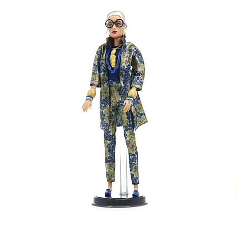 Barbie® Dolls Iris Apfel Jacquard Look Doll