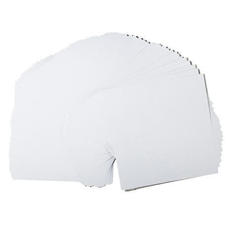 Bazzill 100-piece White Cardstock Bundle