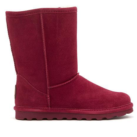 BEARPAW® Elle Suede Sheepskin Boot with NeverWet™