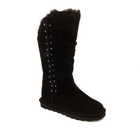 BEARPAW® Florence Suede Studded Boot with NeverWet™