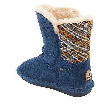 7bd901b7d9fe BEARPAW® Geneva Suede Sheepskin Boot with NeverWet™ - 8822489