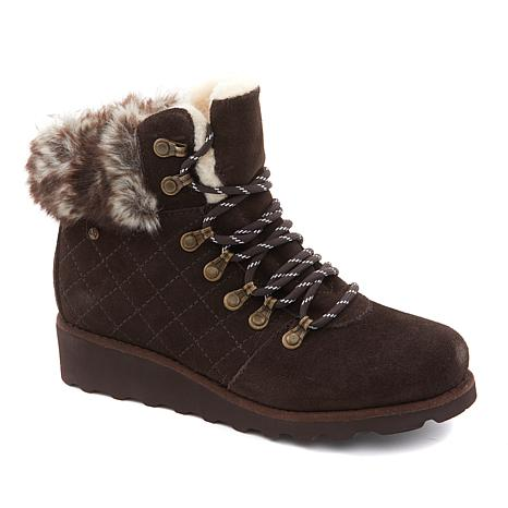 BEARPAW® Janae Suede Hiker Boot with NeverWet®
