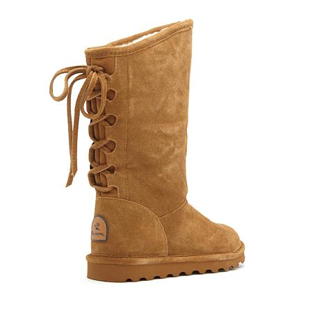BEARPAW® Phylly Suede Laced-Back Boot