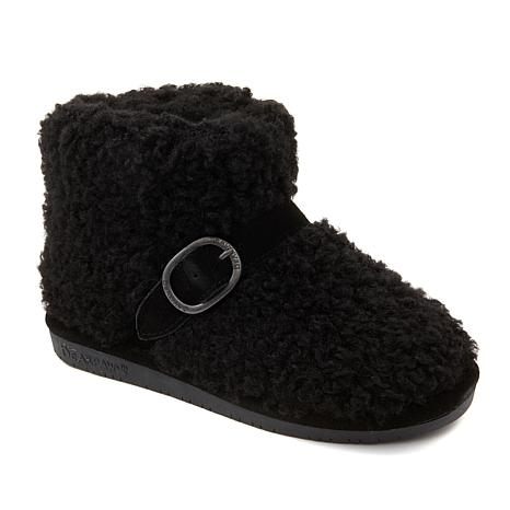 BEARPAW® Treasure Faux Curly Lamb Bootie