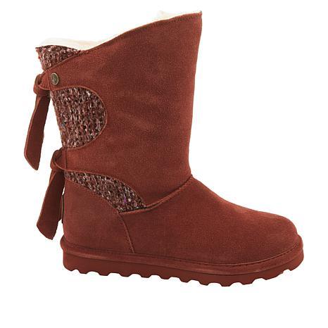 BEARPAW® Willow Suede Tie-Detail Boot