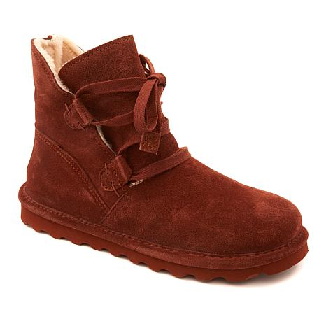 BEARPAW® Zora Suede Sheepskin Boot with NeverWet™