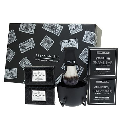 Beekman 1802 6-piece Davesforth Shaving Set