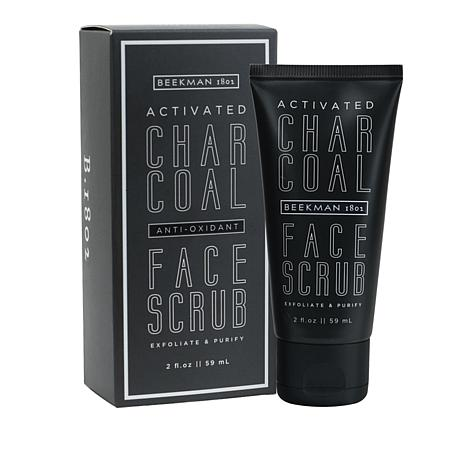 Beekman 1802 Activated Charcoal Goat Milk Face Scrub