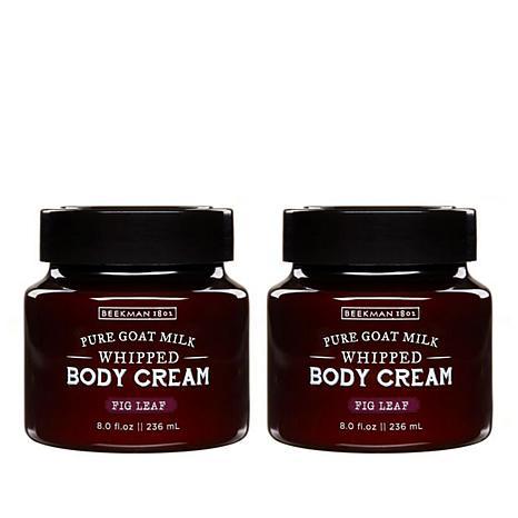 Beekman 1802 Fig Leaf Goat Milk Whipped Body Cream Duo - Auto-Ship®