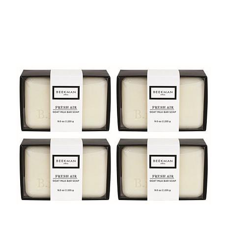 Beekman 1802 Fresh Air Goat Milk Bar Soap 4-piece Set