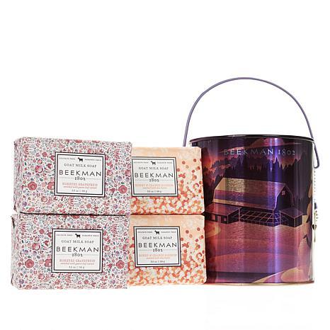 Beekman 1802 Honeyed Grapefruit & Orange Blossom Goat Milk Soap Pail