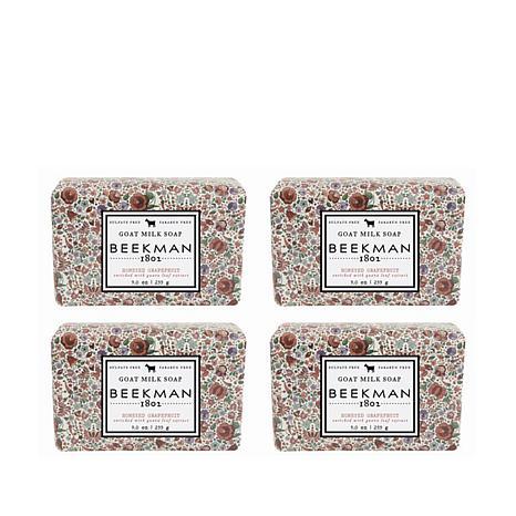 Beekman 1802 Honeyed Grapefruit Bar Soap 4-piece Set Auto-Ship®