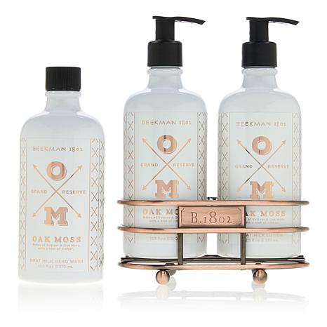 Beekman 1802 Oak Moss Hand Wash & Lotion Caddy Set Auto-Ship®