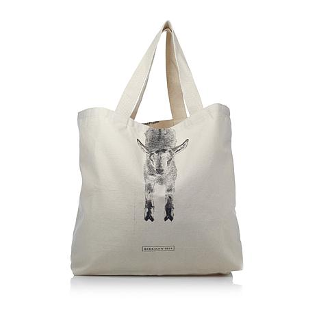 Beekman 1802 Over the Wall Large Goat Tote