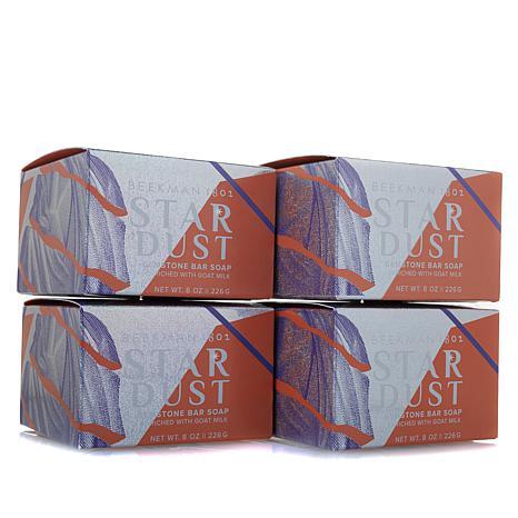 Beekman 1802 Stardust Goat Milk Shimmer Bar 4-piece Set