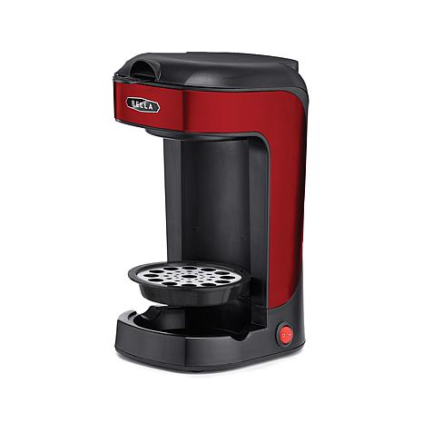 Bella Single Scoop Coffee and Tea Maker - Red