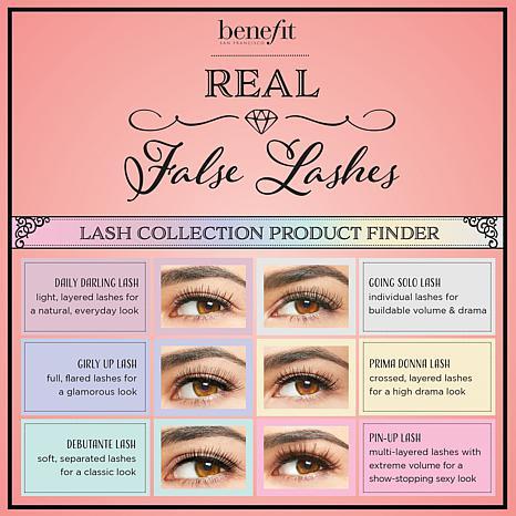 947f07c4dc0 Benefit Cosmetics Debutante Lash False Eyelashes - 8524393 | HSN