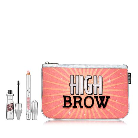 Benefit Cosmetics Gimme Brow and High Brow Golden Blonde Set with Bag