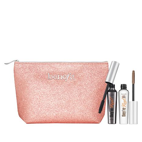 Benefit Cosmetics They're Real Mascara & Lash Primer with Sparkle  Bag