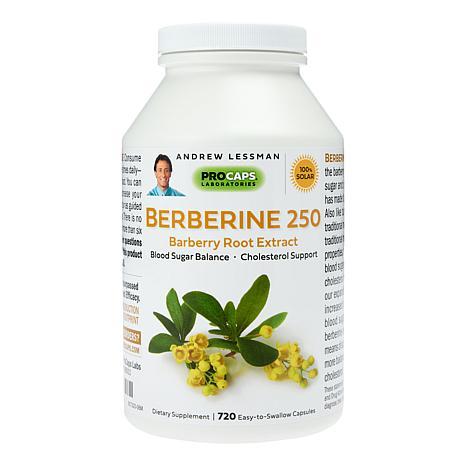 Berberine 250 - 720 Capsules