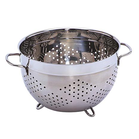 berghoff 10 stainless steel colander 7704072 hsn